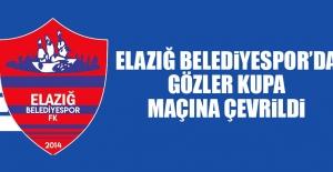 E.Belediyespor'da Gözler Kupa Maçına Çevrildi