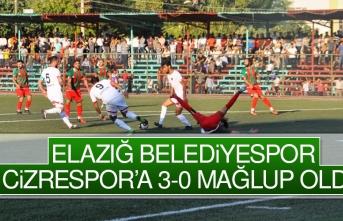 Elazığ Belediyespor Cizrespor'a 3-0 Mağlup Oldu