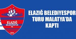 Elazığ Belediyespor; Turu Malatya'da Kaptı