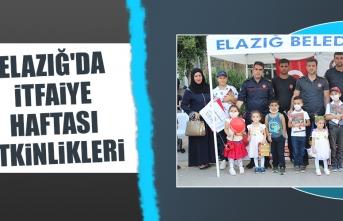 Elazığ'da İtfaiye Haftası Etkinlikleri