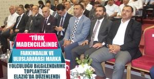 Elazığ'da Madencilikle İlgili Program Gerçekleştirildi