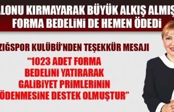 Elazığspor Kulübü; Prof. Dr. Yasemin Açık'a Teşekkür Mesajı Yayımladı