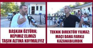 Elazığspor-Sakaryaspor Karşılaşmasının Ardından