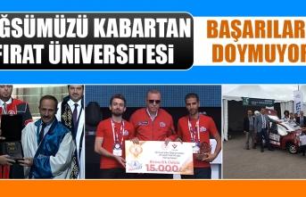 Göğsümüzü Kabartan Fırat Üniversitesi Başarılara Doymuyor