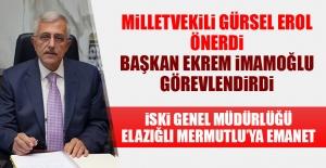 İSKİ Genel Müdürlüğü'ne Raif Mermutlu Atandı