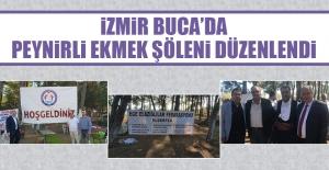 İzmir Buca'da Peynirli Ekmek Şöleni Düzenlendi