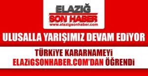 Kararnameyi Türkiye Elazığ Son Haber'den Öğrendi