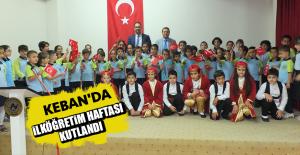Keban'da İlköğretim Haftası Kutlandı