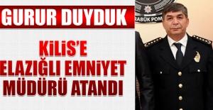 Kilis'e Elazığlı Emniyet Müdürü Atandı
