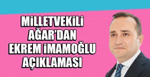 Milletvekili Ağardan Ekrem İmamoğlu...