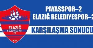 Payasspor 2-2 Elazığ Belediyespor