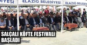 Salçalı Köfte Festivali Başladı