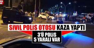 Sivil Polis Otosu Kaza Yaptı