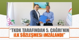 """""""TKDK Tarafından 5. Çağrı'nın İlk Sözleşmesi İmzalandı"""""""