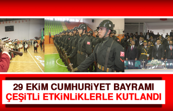 29 Ekim Cumhuriyet Bayramı Çeşitli Etkinliklerle Kutlandı