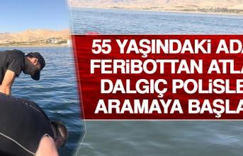 55 Yaşındaki Adam Feribottan Atladı