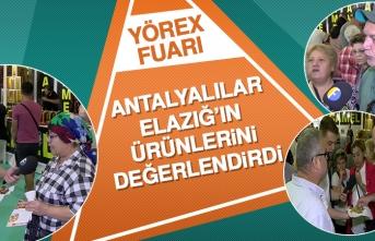 Antalyalılar Elazığ'ın Ürünlerini Değerlendirdi