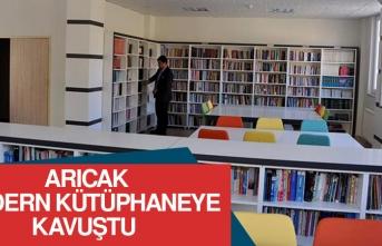Arıcak, Modern Kütüphaneye Kavuştu