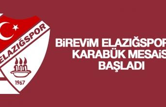 B.Elazığspor'da Karabük Mesaisi Başladı