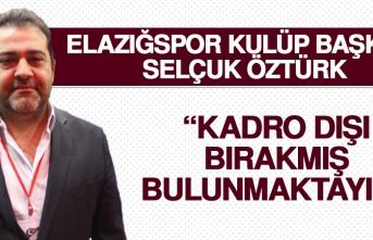 Birevim Elazığspor'da O Futbolcu Kadro Dışı Bırakıldı