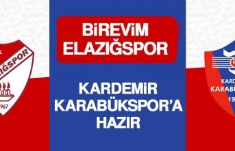 Birevim Elazığspor Kardemir Karabükspor'a Hazır