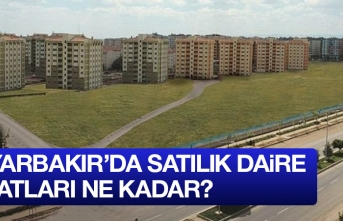 Diyarbakır satılık daire fiyatları ne kadar?