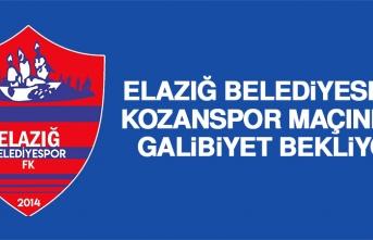 E.Belediyespor, Kozanspor Maçından Galibiyet Bekliyor