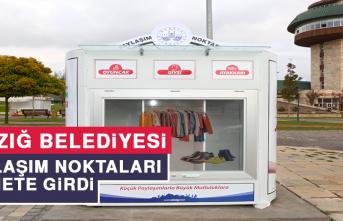 Elazığ Belediyesi Paylaşım Noktaları Hizmete Girdi