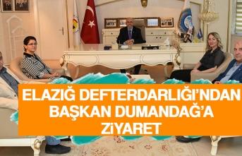Elazığ Defterdarlığı'ndan Başkan Dumandağ'a Ziyaret
