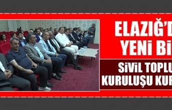 Elazığ'da Yeni Bir Sivil Toplum Kuruluşu Kuruldu
