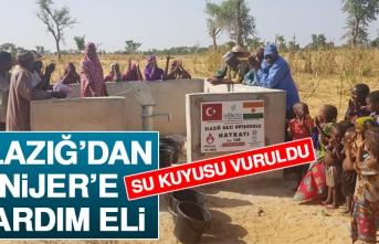Elazığ'dan Nijer'e Yardım Eli