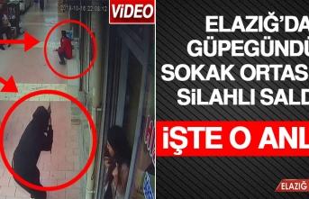Güpegündüz Sokak Ortasında Silahlı Saldırı