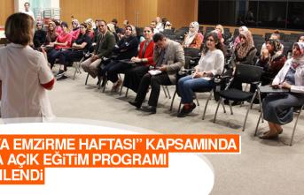 Halka Açık Eğitim Programı Düzenlendi