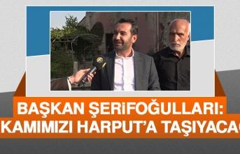 Harput'a Elazığ Belediye Başkanlık Makamı Yapılacak