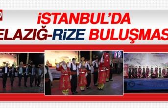 İstanbul'da Elazığ-Rize Buluşması