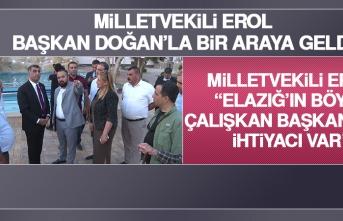 Milletvekili Erol, Başkan Doğan'la Bir Araya Geldi