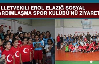 Milletvekili Erol Elazığ Sosyal Yardımlaşma Spor Kulübü'nü Ziyaret Etti