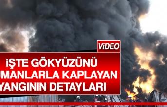 Organize Sanayi Bölgesi'nde Korkutan Yangın