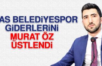 Sivas Belediyespor Giderlerini Murat Öz Üstlendi
