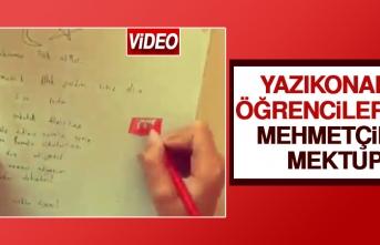 Yazıkonaklı Öğrencilerden Mehmetçik'e Mektup