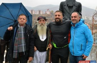 Ağır sıklet boks şampiyonu Umut Camkıran memleketi Tunceli'de