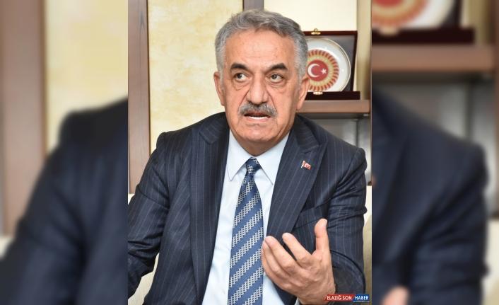 AK Parti Genel Başkan Yardımcısı Hayati Yazıcı Erzurum'da