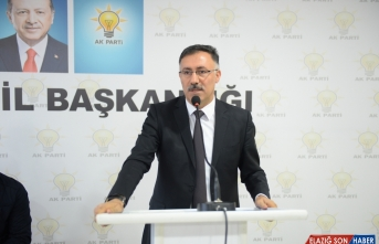 AK Parti Iğdır İl Başkanı Tutulmaz görevinden istifa etti