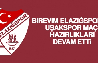 B.Elazığspor'da Uşakspor Maçı Hazırlıkları Devam Etti