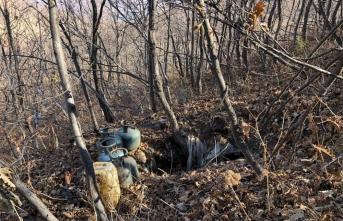 Bingöl'de girişine bomba tuzaklanan sığınak imha edildi