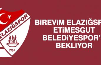 Birevim Elazığspor, Etimesgut Belediyespor'u Bekliyor