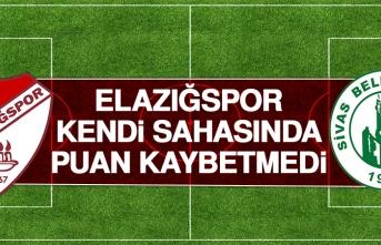 Birevim Elazığspor - Sivas Belediyespor Karşılaşması Sona Erdi!