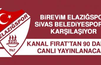 Birevim Elazığspor, Sivas Belediyespor'la Karşılaşıyor