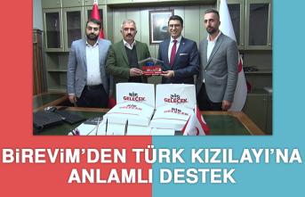 Birevim'den Türk Kızılayı'na Anlamlı Destek