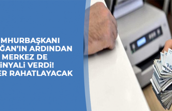 Cumhurbaşkanı Erdoğan'ın ardından Merkez de sinyali verdi!